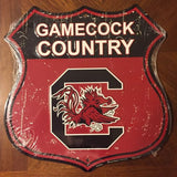 SOUTH CAROLINA GAMECOCKS COUNTRY SHIELD