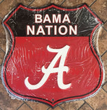 ALABAMA SHIELD BAMA NATION