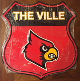 LOUISVILLE CARDINALS SHIELD