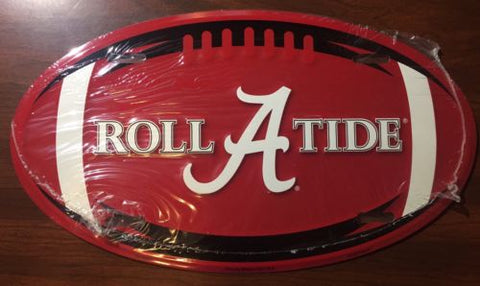 ALABAMA CRIMSON TIDE CAR TRUCK TAG METAL CHROME LICENSE PLATE FRAME
