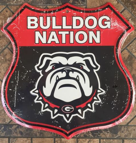 GEORGIA SHIELD BULLDOG NATION