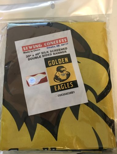 "SOUTHERN MISS GOLDEN EAGLES FLAG BANNER DOUBLE SIDED 30"" x 40"""