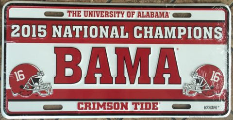 ALABAMA LEATHER KEYCHAIN NATIONAL CHAMPS 2009 FOOTBALL