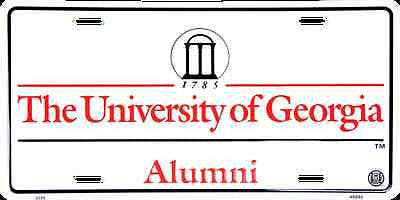 GEORGIA ALUMNI LICENSE PLATE