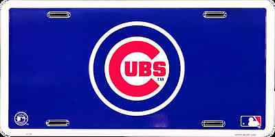 CHICAGO CUBS LICENSE PLATE