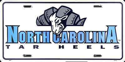 NORTH CAROLINA TAR HEELS LICENSE PLATE