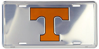 TENNESSEE VOLUNTEERS CHROME LICENSE PLATE