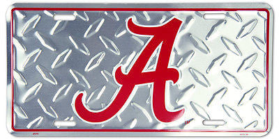 AUBURN TIGERS LICENSE PLATE CAMO