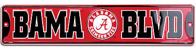"AUBURN TIGERS CORRUGATED METAL SIGN 12"" X 18"" UNIVERSITY UA WAR EAGLE TIN RETRO"