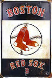 BOSTON RED SOX RETRO VINTAGE PARKING SIGN