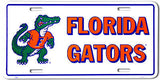 FLORIDA LICENSE PLATE GATORS