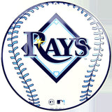 Tampa Bay Rays Round Baseball Sign