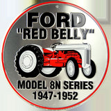 Ford Red Belly Tractor 12