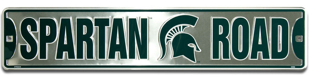 Michigan State Spartans Street Sign