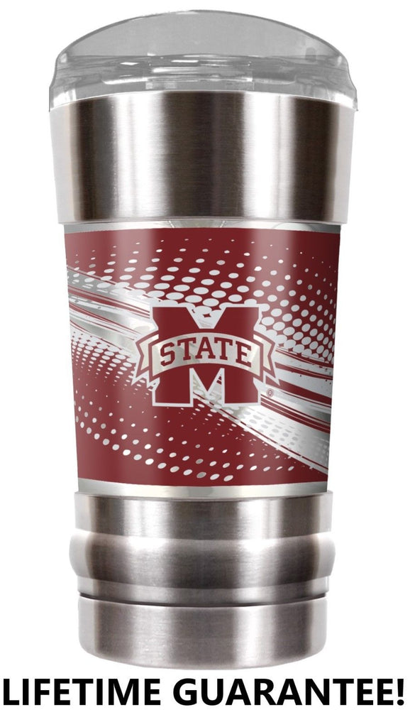 MISSISSIPPI STATE BULLDOGS VACUUM INSULATED STAINLESS STEEL TUMBLER 20OZ TRAVEL MUG
