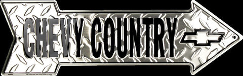 CHEVY TRUCKS DIAMOND LICENSE PLATE