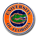 Florida Gators Round Sign