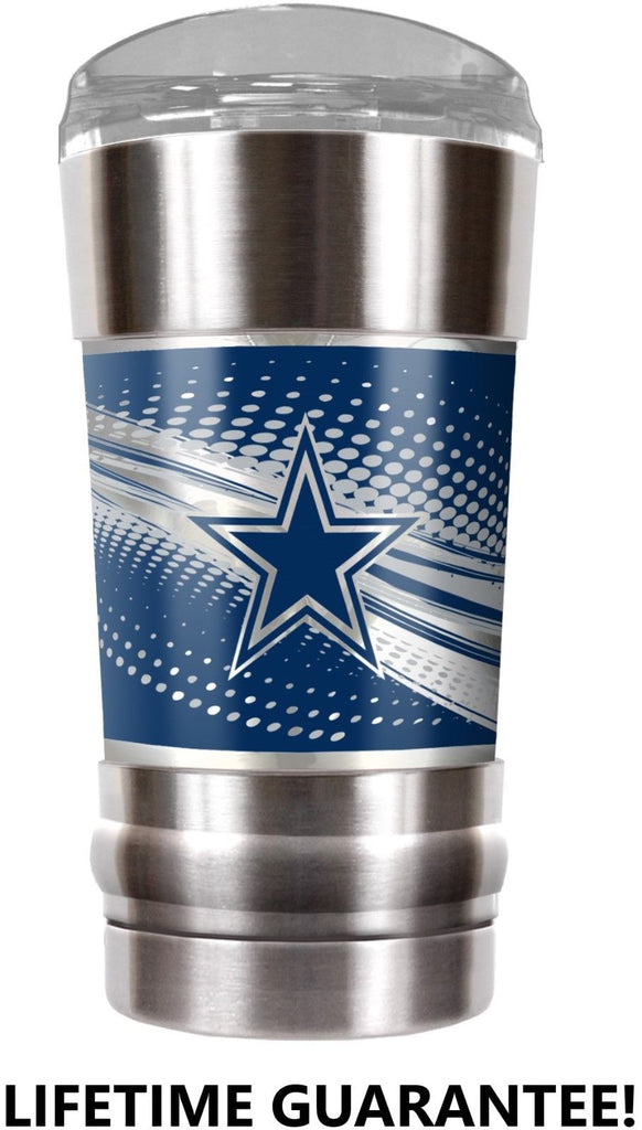 DALLAS COWBOYS VACUUM INSULATED STAINLESS STEEL TUMBLER 20OZ TRAVEL MUG