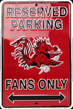 South Carolina Parking Only