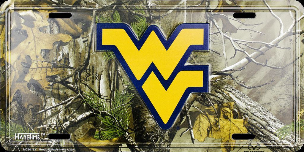 WEST VIRGINIA CAMO LICENSE PLATE