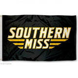 SOUTHERN MISS GOLDEN EAGLES FLAG W/ GROMMETS 3' x 5'