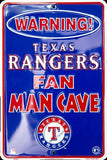 TEXAS RANGERS WARNING PARKING SIGN