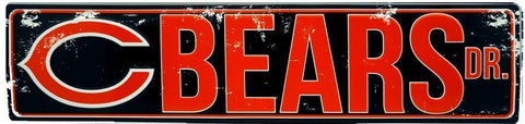 CHICAGO BEARS YOU'RE IN BEARS COUNTRY 8' X 2' BANNER 8 FOOT HEAVYWEIGHT SIGN