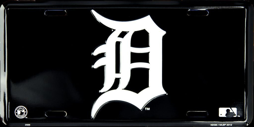 DETROIT TIGERS LICENSE PLATE