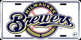 MILWAUKEE BREWERS LICENSE PLATE