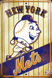 NEW YORK METS RETRO VINTAGE PARKING SIGN