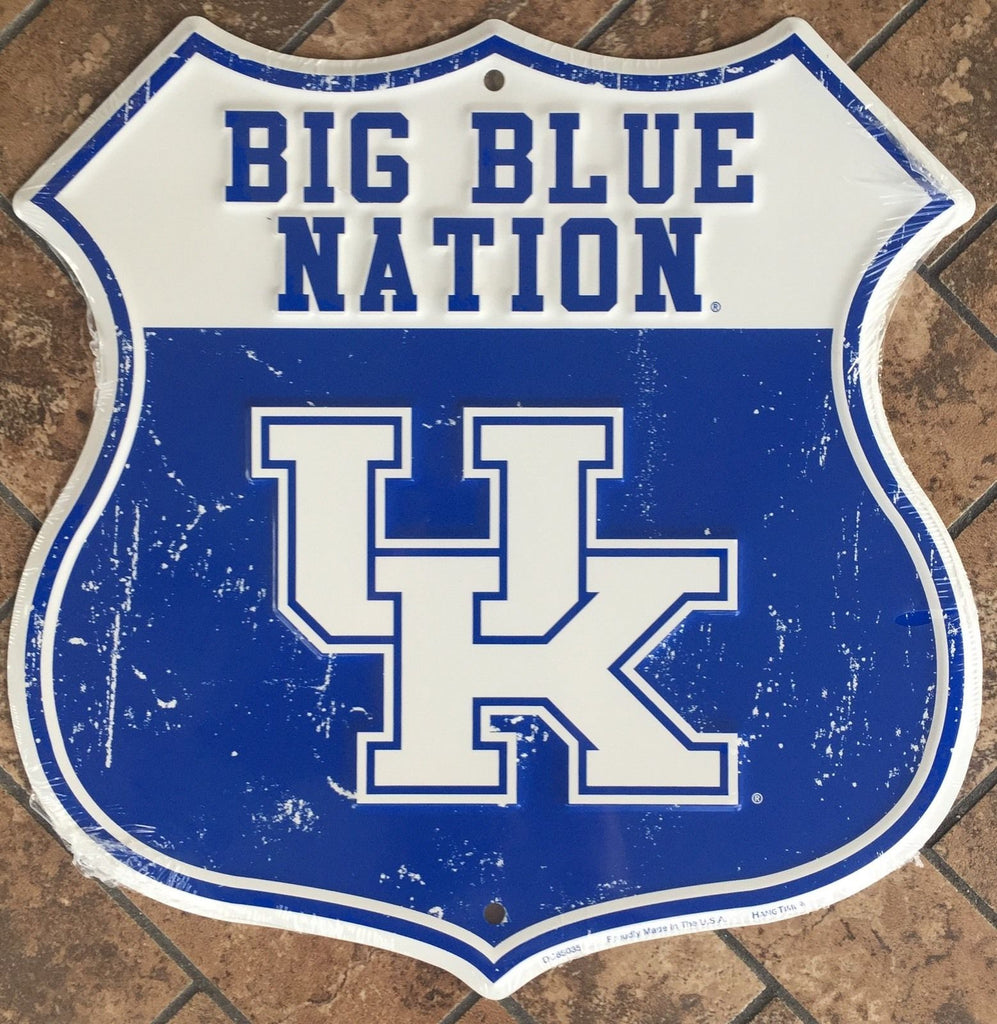 KENTUCKY SHIELD BIG BLUE NATION