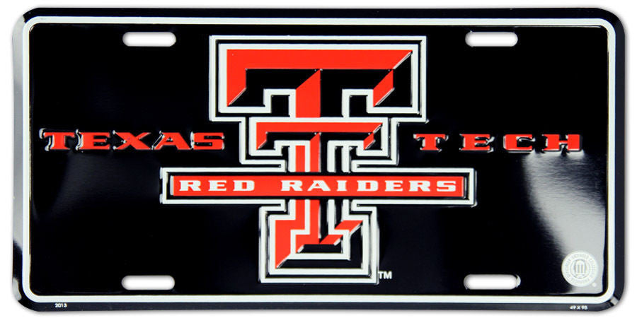 Texas Tech Red Raiders License Plate