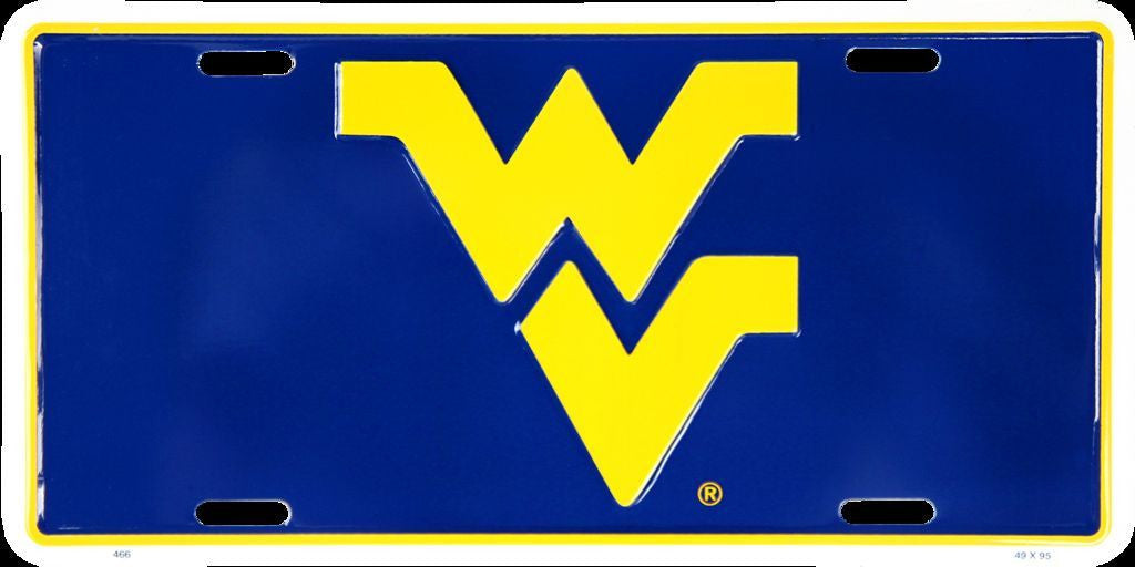 WEST VIRGINIA LICENSE PLATE WV