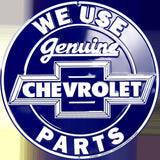 CHEVROLET WE USE GENUINE PARTS 12