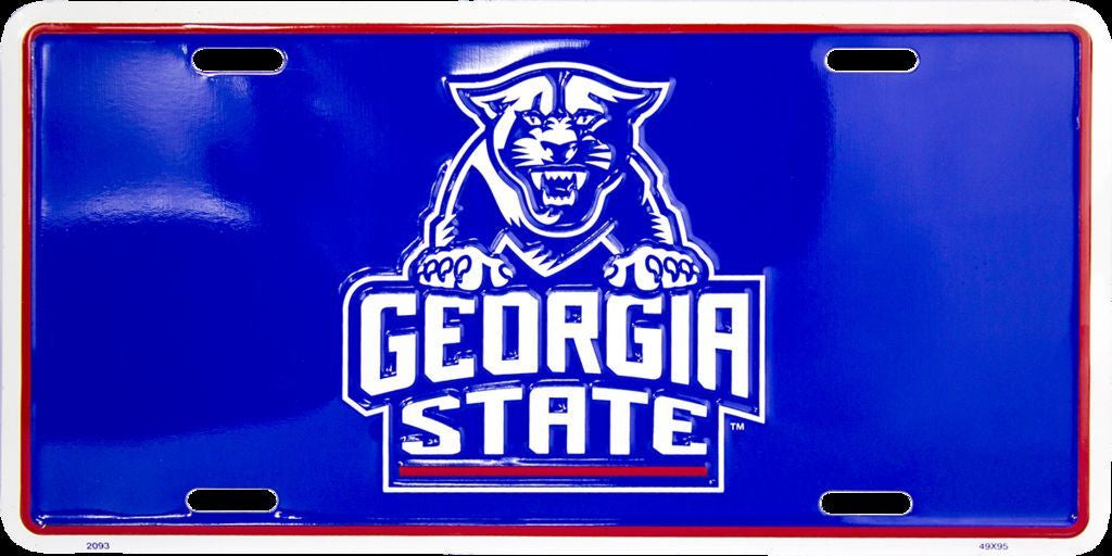 GEORGIA STATE PANTHERS LICENSE PLATE