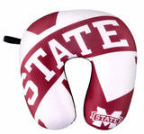 MISSISSIPPI STATE BULLDOGS TRAVEL NECK PILLOW