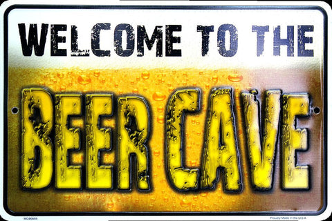 THE MAN CAVE STREET SIGN