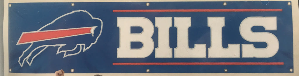 BUFFALO BILLS YOU'RE IN BILLS COUNTRY 8' X 2' BANNER 8 FOOT HEAVYWEIGHT SIGN