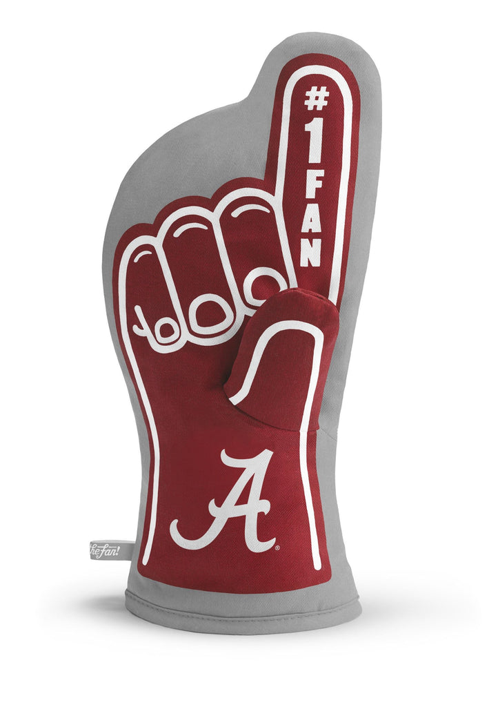 ALABAMA CRIMSON TIDE #1 FAN OVEN MITT NCAA GAMEDAY GRILL TAILGATE  GLOVE HEAT RESISTANT