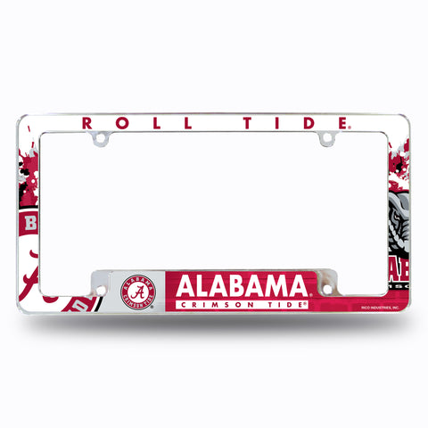ALABAMA CAR TAG LICENSE PLATE CRIMSON TIDE METAL