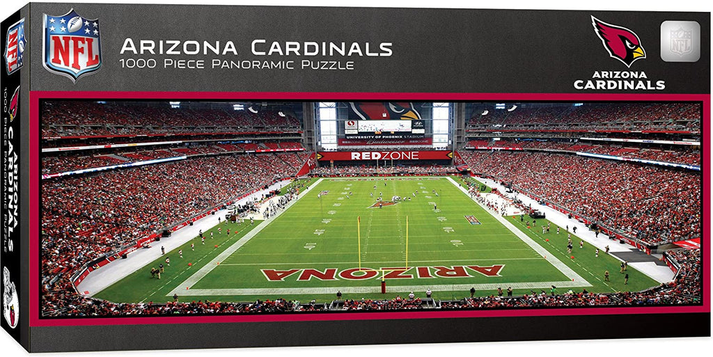 ARIZONA CARDINALS STADIUM PANORAMIC JIGSAW PUZZLE NFL 1000 PC