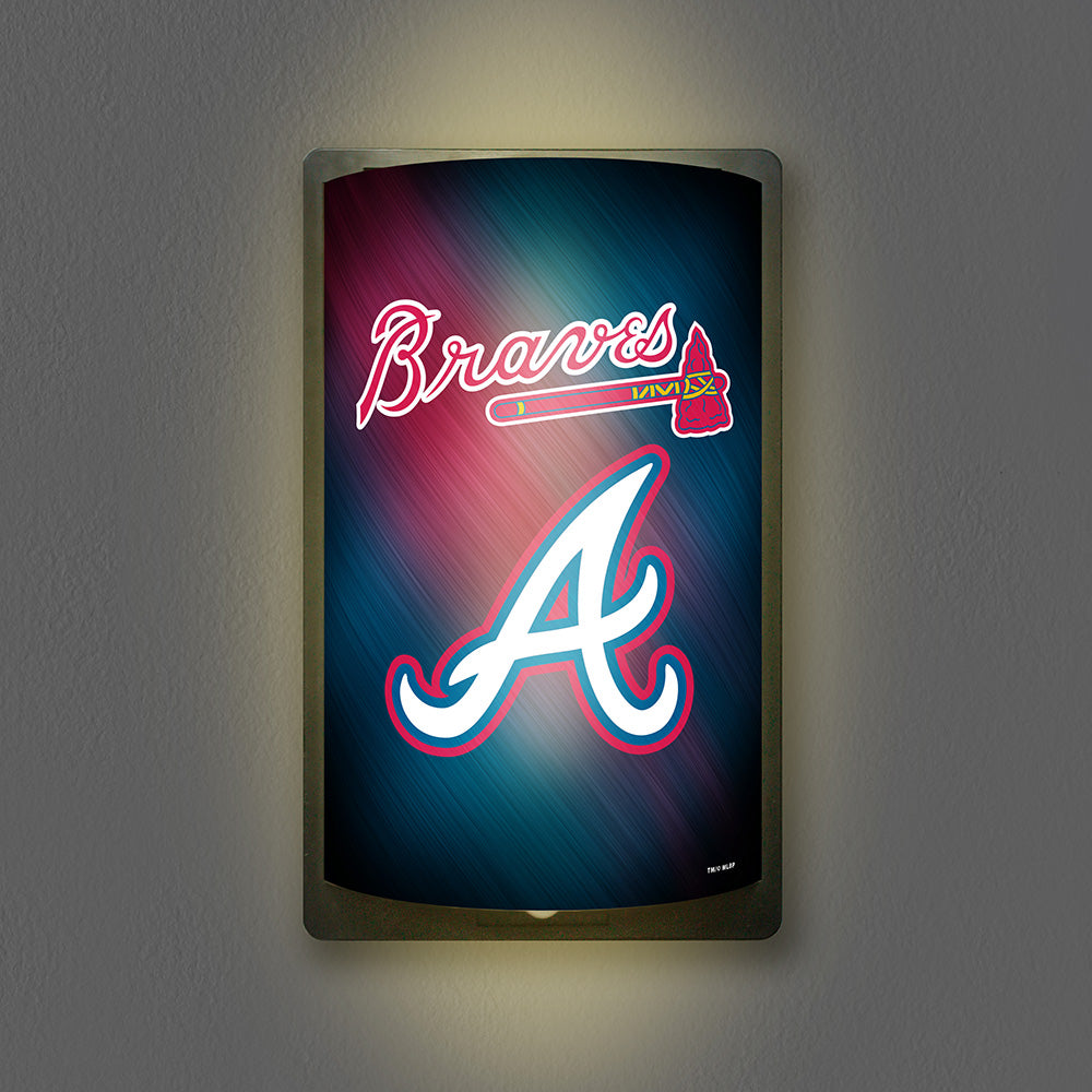 Atlanta Braves Motiglow Light Up Sign Motion Activated Lamp