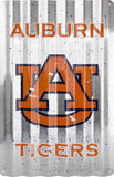 Auburn Tigers Corrugated Metal Sign 12