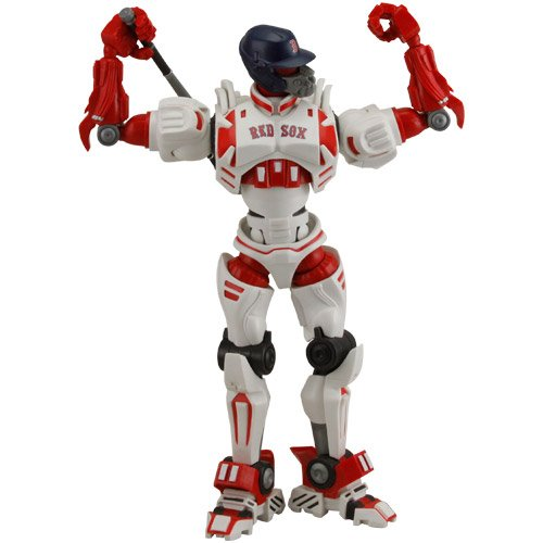"BOSTON RED SOX FOX SPORTS 10"" ROBOT ACTION FIGURE COLLECTORS ITEM MLB"