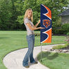 CHICAGO BEARS 6 FOOT TALL SWOOPER DOUBLE SIDED TEAM FLAG
