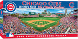 CHICAGO CUBS STADIUM PANORAMIC JIGSAW PUZZLE NHL 1000 PC WRIGLEY FIELD