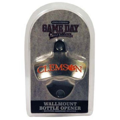 Clemson Tigers Wall Mount Bottle Opener