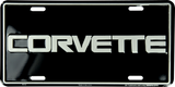 CORVETTE LICENSE PLATE METAL CHEVROLET SIGN EMBOSSED CAR TRUCK AUTO RACING