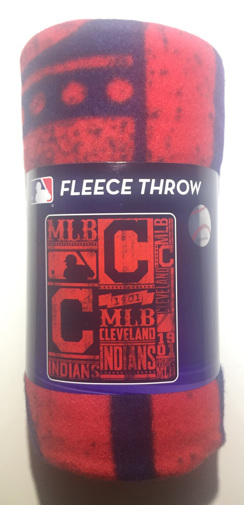 "MLB SOFT FLEECE THROW 50""x 60"" STADIUM BLANKET NEW BASEBALL - PICK YOUR TEAM"