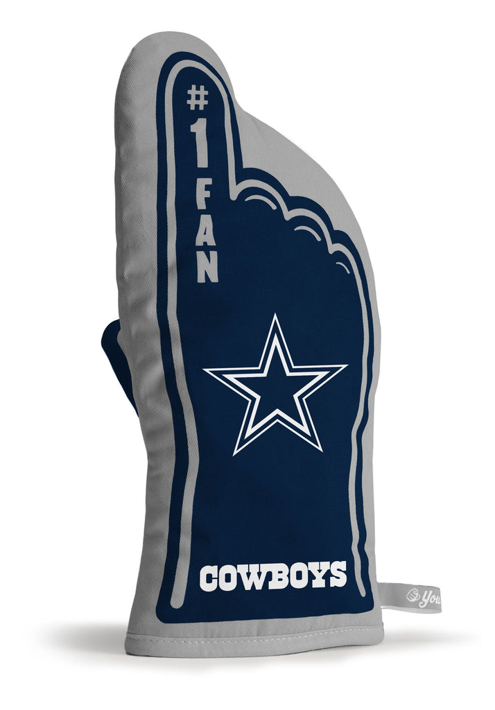 DALLAS COWBOYS #1 FAN OVEN MITT GAMEDAY GRILL TAILGATE  GLOVE HEAT RESISTANT